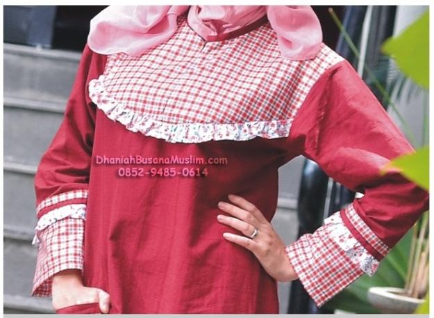 Sik Clothing Gamis 20 Merah